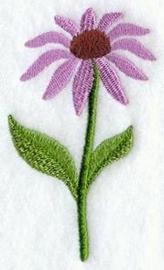 Handdoek of Gastendoekje met Zonnehoed (Echinacea)
