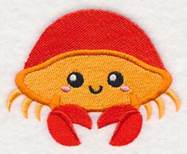 Baby badcape met Baby krab - ZB02