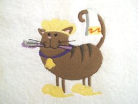 Kat met badmuts - BK03