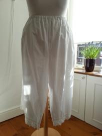 OB02 - Lange onderbroek met kant