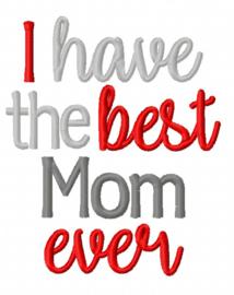 """Slabbetje """"Best Mom"""""""