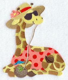 Giraf op het strand - SB03