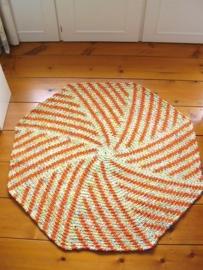 Achthoekige badmat - RR047