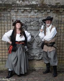 DR23 - Gestreepte piratenrok - VERKOCHT