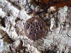 HA03 - Keltisiche triscel hanger van brons