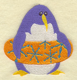 Pinguin met zwemband - ZB05
