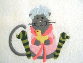 Kat met eendje - BK02