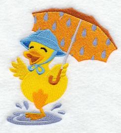 Eend met paraplu - PB02