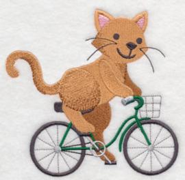 Kat op fiets - FV07