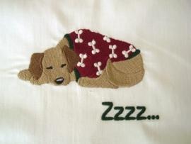 Ledikantlakentje Pyjamadieren - Puppy in Pyjama #1