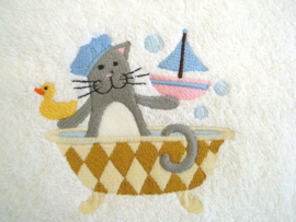 Kat in badkuip - BK04