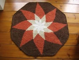 Achthoekige badmat - RR063