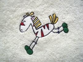 Baby badcape met Zebra - FC04