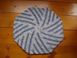 Achthoekige badmat - RR037