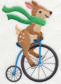 Hert op velocipede - FV05