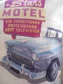 "KH10 - Kussenhoes ""Vintage Cars"" - UITVERKOCHT"