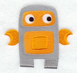 Oranje robot