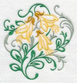 Handdoek met Honingbloem