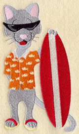 Kat op het strand - SB06