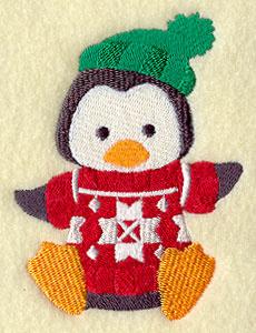 Winter pinguin - WD11