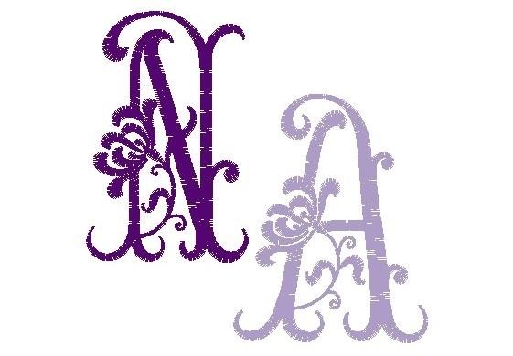 Monogram #01 - Aster