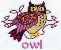 Handdoek of Baddoek met Celtic Owl