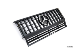 Mercedes W463 G Klasse Panamericana  GT AMG Look Grill Grille Bumpergrill Koelergrill Sportgrill Bj 1990-06/2012 Glanszwart