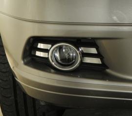 Mercedes W204 C Klasse C63 AMG Look Chromen Nevelomranding Mistlampen Bj 2007-2011