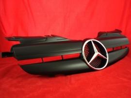 Mercedes R170 SLK AMG Look Grill BJ 1995-2004 Matzwart