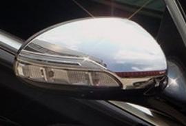 Mercedes W221 S Klasse AMG Look Chromen Spiegelkappen  Upgrade Bj 2005-2009