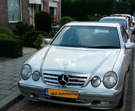 Mercedes W210 E Klasse AMG Look Grill Chroom Bj 1999-2002