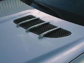 Mercedes R171 SLK AMG Look Chromen Motorkap Vinnen Bj 2004-2011