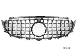 MERCEDES W213 C238 E E63 PANAMERICANA AMG GT SPORTGRILL GLANSZWART/CHROOM