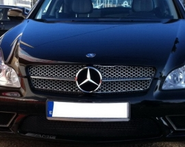 Mercedes W219 CLS AMG Look Grill Chroom Bj 2008-2010