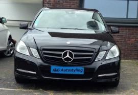 Mercedes W212 E Klasse AMG Look Grill Glanszwart Bj 2009-2013