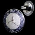 Mercedes motorkaplogo ter vervanging van de ster