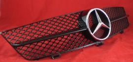 Mercedes W219 CLS AMG Look Grill Glanszwart Bj 2008-2010