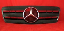 Mercedes W208 CLK AMG Look Grill Glanszwart Bj 1997-2003