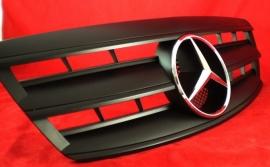 Mercedes W220 S Klasse AMG Look Grill Matzwart Met Chromen Ster Bj 2002-2006