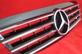 Mercedes W220 S Klasse AMG Look Grill Zwart/chroom Bj 1998-2002