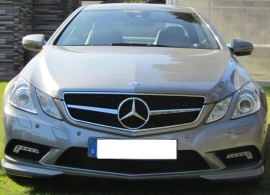 Mercedes W207 Coupe E Klasse AMG Look Grill Zwart/Chroom Bj 2007-2014