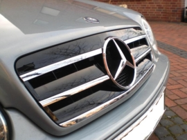 Mercedes W208 CLK AMG Look Grill Zwart/Chroom Bj 1997-2003