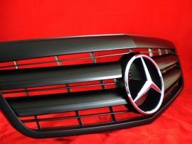Mercedes W212 E Klasse AMG Look Grill Matzwart Met Chromen Ster Bj 2009-2013