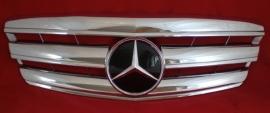 Mercedes W221 S Klasse AMG Look Grill Chroom Bj 2005-2009