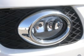 Mercedes W164 ML KLasse AMG Look Chromen Nevelomranding Mistlampen Ovaal Bj 2005-2009
