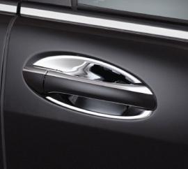 Mercedes W164 ML Klasse AMG Look Chromen Deurschalen Bj 2005-2011