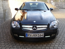 Mercedes R170 SLK AMG Look Grill Bj 1995-2004 Chroom
