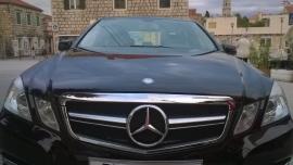 Mercedes W212 E Klasse AMG Look Grill Chroom/Mat Chroom Bj 2009-2013