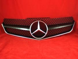 Mercedes W207 Coupe E Klasse AMG Look Grill  Glanszwart Bj 2007-2014