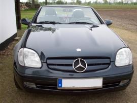 Mercedes R170 SLK AMG Look Grill Bj 1995-2004 Glanszwart